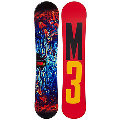 Millenium 3 Stagger 4 Junior Boys Snowboard, , viewer