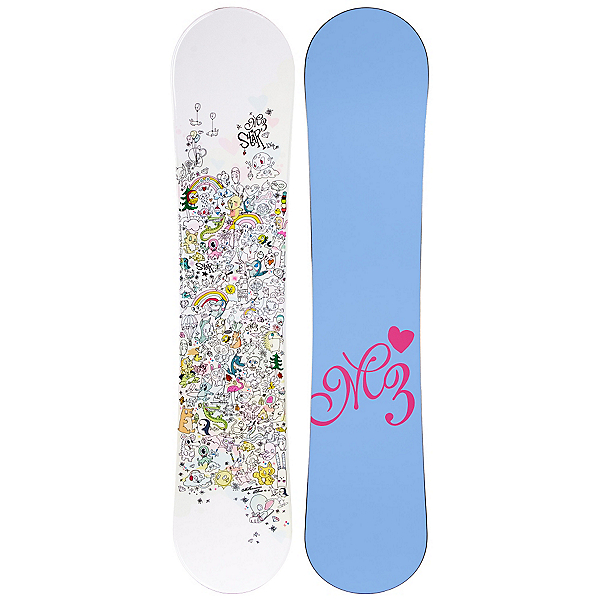 Millenium 3 Star Jr Girls Snowboard, , 600