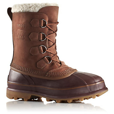 Sorel Caribou Mens Boots, Cinnamon-Madder Brown, viewer