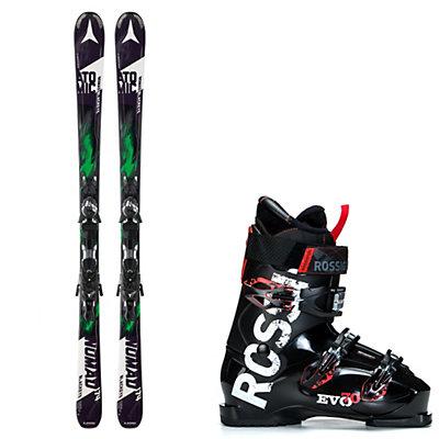 Atomic Blackeye, and Rossignol Evo 70 Ski Package, , viewer