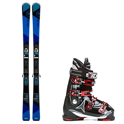 Rossignol Experience 77 and Atomic Hawx 2.0 90 Ski Package, , viewer