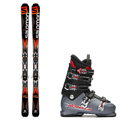 Salomon X-Drive 8.0, and Nordica NXT N6 Ski Package, , viewer