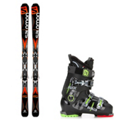 Salomon X-Drive 8.0, and Dalbello Jakk Ski Package 2016, , medium