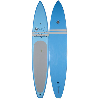 Riviera Paddlesurf Ron House 12ft 6in Coastal Cruiser Stand Up Paddleboard, Blue, viewer