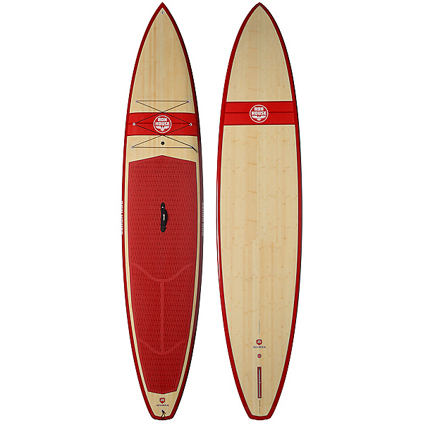 Riviera Paddlesurf Ron House 12'6 Coastal Cruiser Woody Stand Up Paddleboard, Red, 600