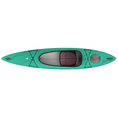 Hurricane Santee 120 Sport Kayak 2017, Red, viewer