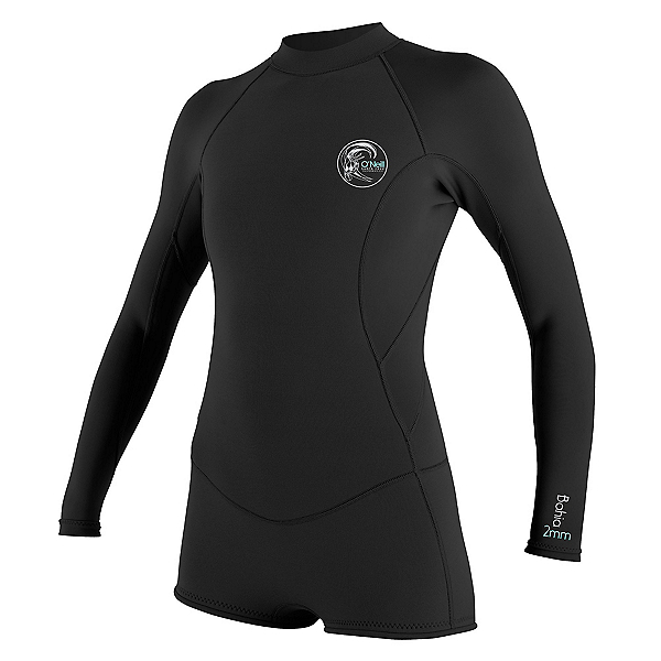 O'Neill Bahia Long Sleeve Short Spring Womens Shorty Wetsuit 2016, , 600