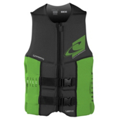 O'Neill Assault LS USCG Adult Life Vest 2017, Graphite-Dayglo, medium