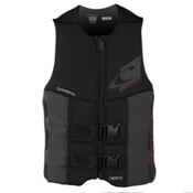 O'Neill Assault LS USCG Adult Life Vest 2017, Black-Black, medium