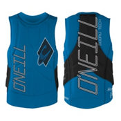 O'Neill Gooru Tech Comp Adult Life Vest 2016, Brite Blue-Black, medium