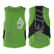 O'Neill Gooru Tech Comp Adult Life Vest 2016, Dayglo-Black, medium