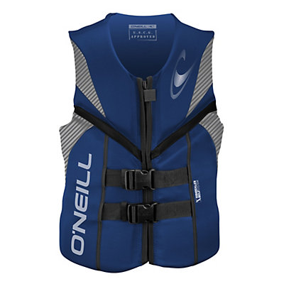 O'Neill Reactor USCG Adult Life Vest 2016, Black-Black-Black, viewer