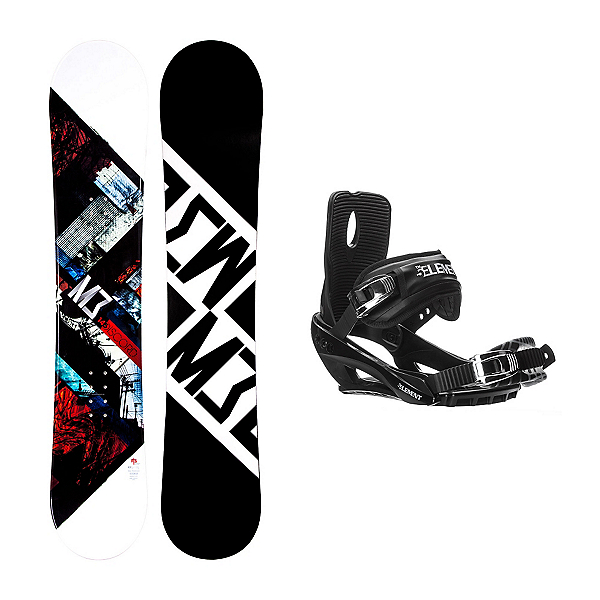 Millenium 3 Discord Stealth 3 Snowboard and Binding Package, , 600