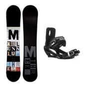 Millenium 3 Discord Black Stealth 3 Snowboard and Binding Package, , medium