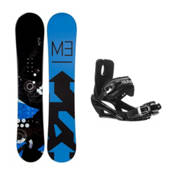 Millenium 3 Filter Stealth 3 Snowboard and Binding Package, , medium