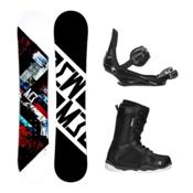 Millenium 3 Discord ST-1 Complete Snowboard Package, , medium