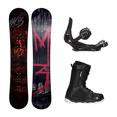 Millenium 3 Convoy 4 ST-1 Complete Snowboard Package, , viewer
