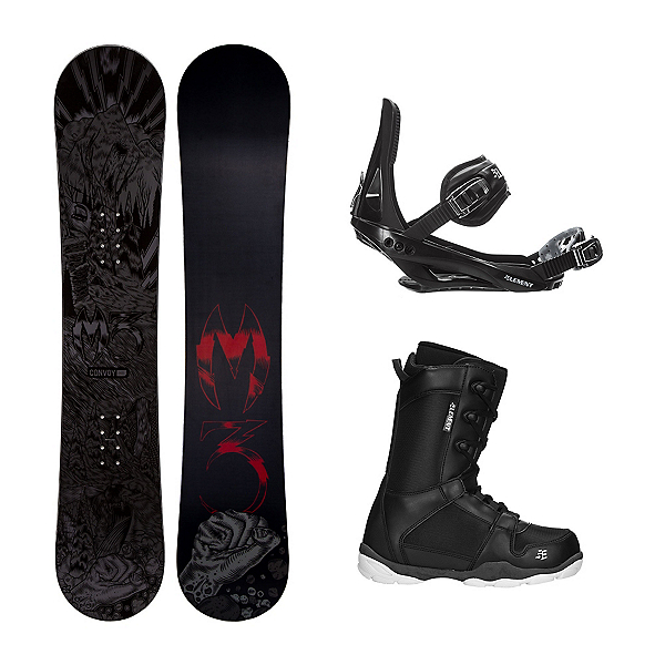 Millenium 3 Convoy ST-1 Complete Snowboard Package, , 600