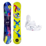 Roxy Ally LN BTX Solstice 4 Womens Snowboard and Binding Package, , medium