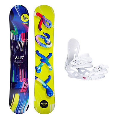 Roxy Ally LN BTX Solstice 4 Womens Snowboard and Binding Package, , viewer