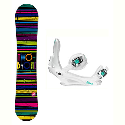 2B1 Paint Black Solstice 4 Womens Snowboard and Binding Package, , viewer