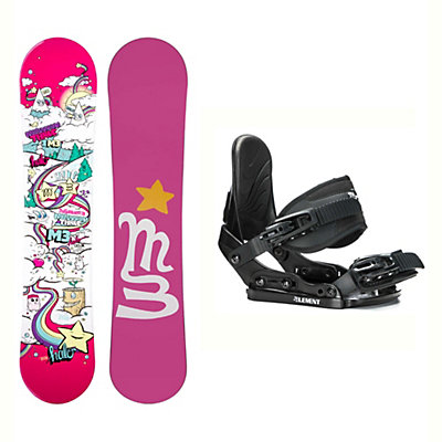 Millenium 3 Halo 3 Solstice Girls Snowboard and Binding Package, , viewer