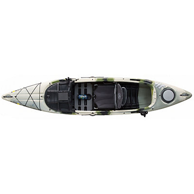 Jackson Kayak Kilroy Fishing Kayak, Forest Camo, viewer
