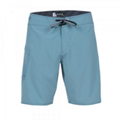 Volcom Lido Heather Mod Board Shorts, Stormy Blue, medium