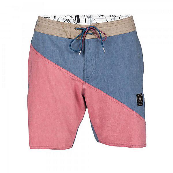 Volcom Liberation Slinger Mens Board Shorts, Navy Paint, 600
