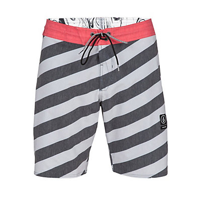 Volcom Stripey Slinger Boardshorts, Dust Red, viewer