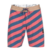 Volcom Stripey Slinger Board Shorts, Dust Red, medium