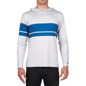 Volcom 3 Quarta Long Sleeve Mens Rash Guard, Cool Grey, medium