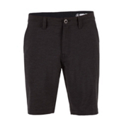 Volcom Surf N' Turf Static Hybrid Board Shorts, Black, medium