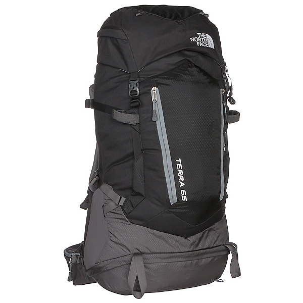 The North Face Terra 65 Backpack 2017, TNF Black-Asphalt Grey, 600