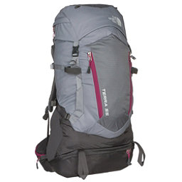 The North Face Terra 55 Womens Backpack (Previous Season), Dapple Grey-Fuschia Pink, 256