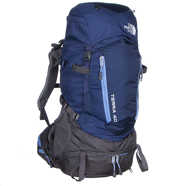 The North Face Terra 40 Womens Backpack (Previous Season), Patriot Blue-Persian Jewel, 600