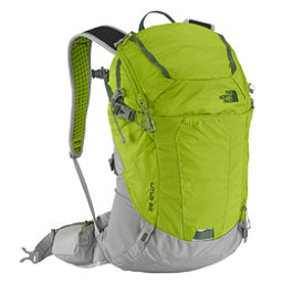 The North Face Litus 22 Daypack, Macaw Green-Spruce Green, 256