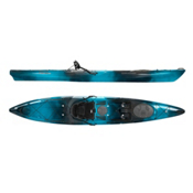 Wilderness Systems Tarpon 140 With Rudder Sit On Top Kayak, Midnight, medium