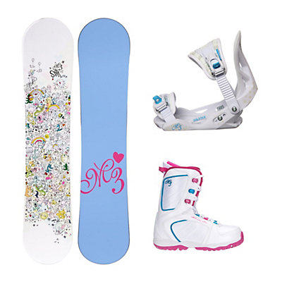 Millenium 3 Star Venus XIII Girls Complete Snowboard Package, , viewer