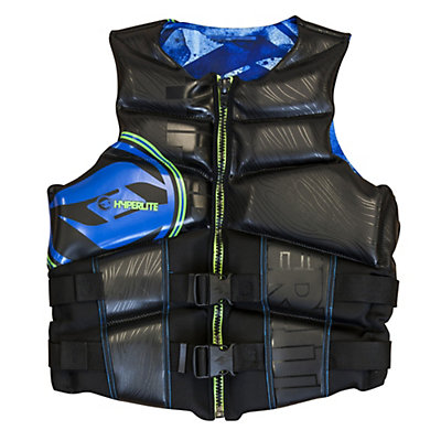 Hyperlite Team Adult Life Vest 2016, Blue-Green, viewer