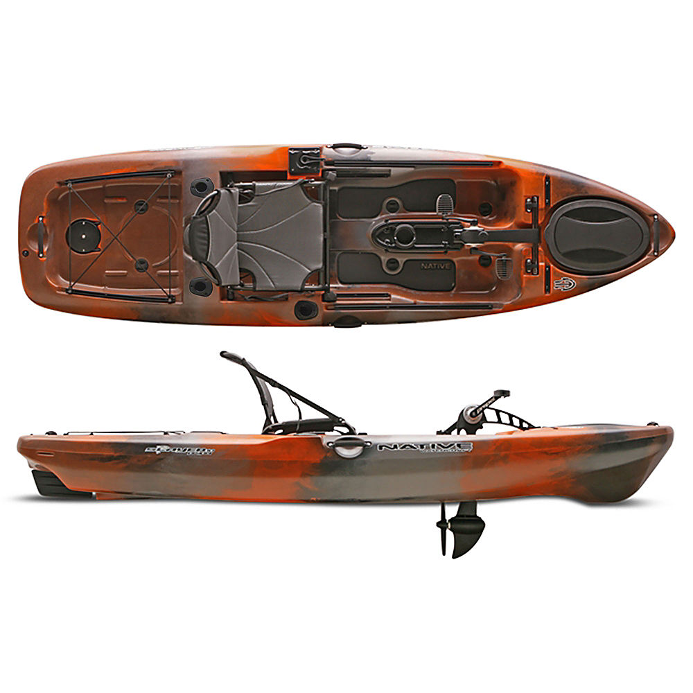 native watercraft slayer propel 10 fishing kayak 2016