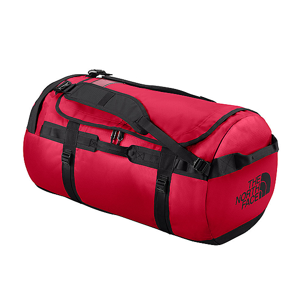 The North Face Base Camp Medium Duffel Bag 2018, TNF Red-TNF Black, 600