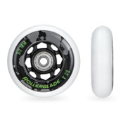 Rollerblade Wheel Kit Urban 80mm/82A Inline Skate Wheels with SG7 Bearings - 8 Pack 2016, , medium