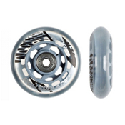 Rollerblade Wheel Kit 78mm/80A Inline Skate Wheels with SG5 Bearings - 8 Pack 2016, , medium