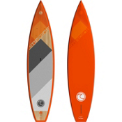Imagine Surf 12ft 6in Mission WC Touring Stand Up Paddleboard 2017, Orange-Wood, medium