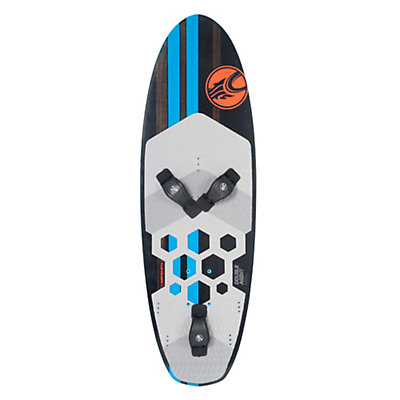 Cabrinha Double Agent Kiteboard, Black, viewer