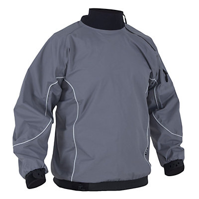 NRS Powerhouse Paddling Jacket, Gray, viewer