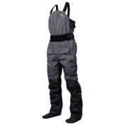 NRS Sidewinder Bib Dry Pants, Gunmetal, medium