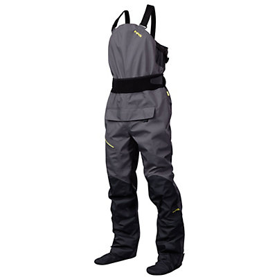 NRS Sidewinder Bib Dry Pants 2016, Gunmetal, viewer