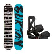 Burton Blunt Custom Snowboard and Binding Package 2016, 147cm, medium